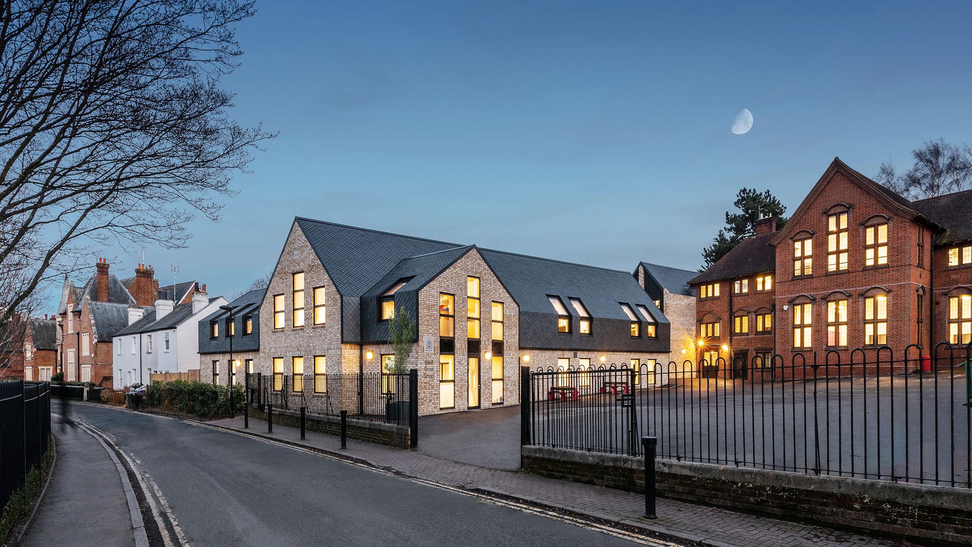 Ewell Grove Primary School exterior
