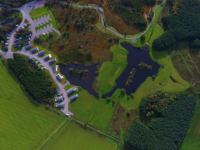 Westland-Country-Park aerial view